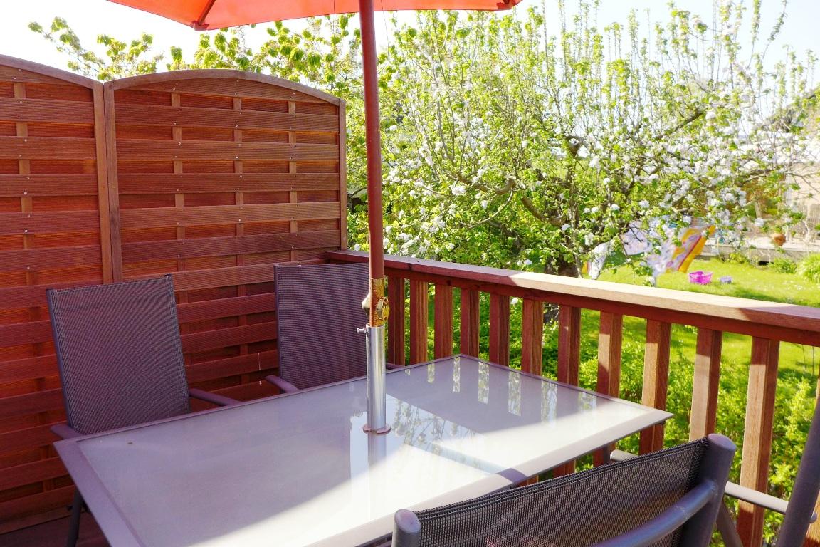 balkon Ferienwohnung sonnendeck